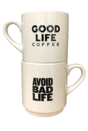 Avoid Bad Life Coffee Mug